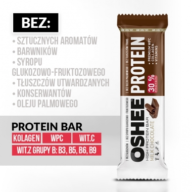 OSHEE Protein bar Milk chocolate 45g